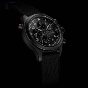 IW371815_Pilot's Watch Double Chronograph TOP GUN Ceratanium_Lifestyle