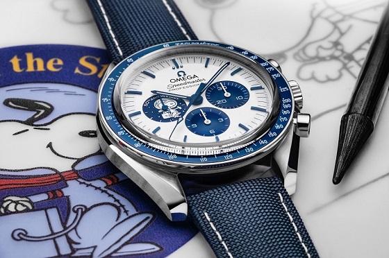 Speedmaster « Silver Snoopy Award » 50e anniversaire, OMEGA nous renvoie dans l'espace